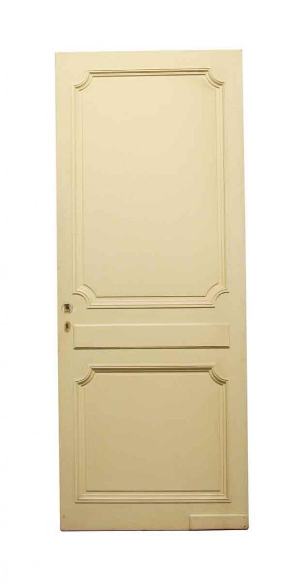 Closet Doors - Vintage 2 Panel White Closet Door 80.375 x 31.5