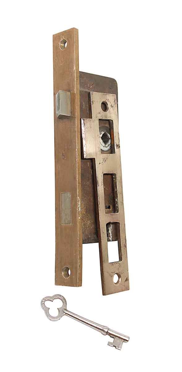 Door Locks - Bronze French Door Mortise Lock