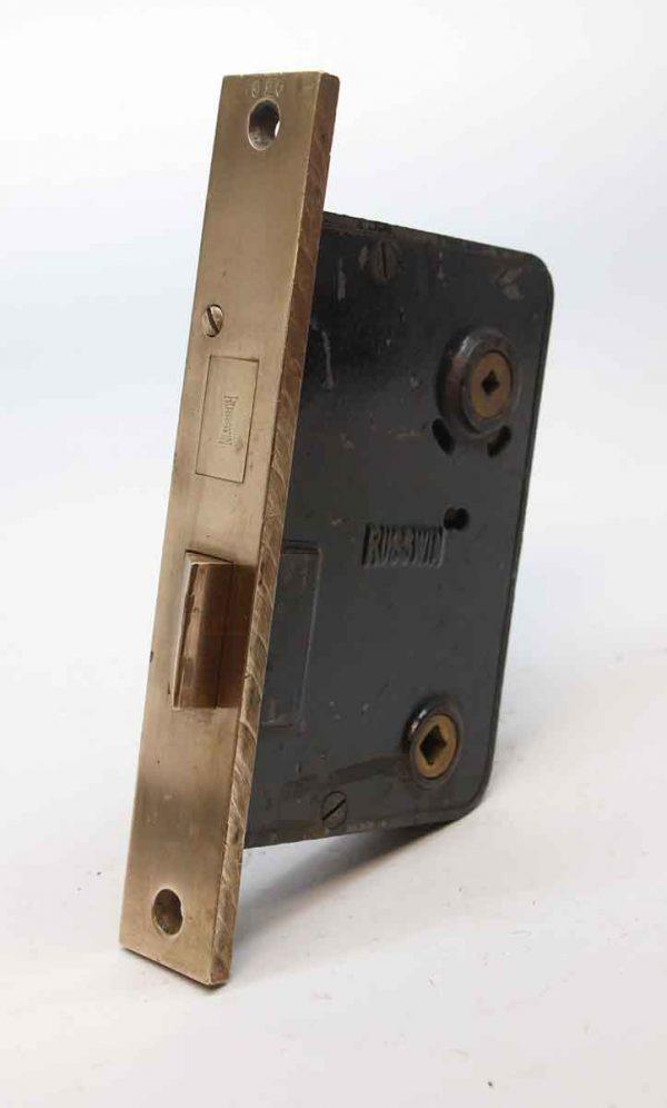 Door Locks - Russwin Cast Iron & Brass Entry Door Mortise Lock