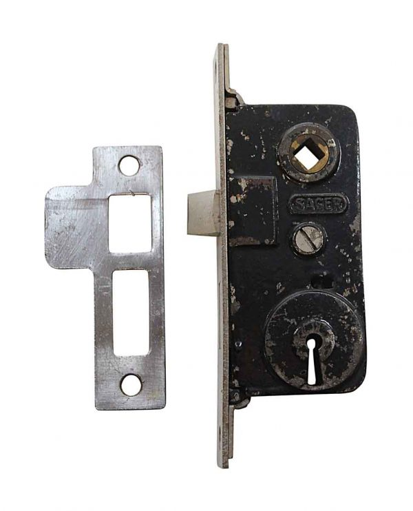 Door Locks - Sager Narrow Steel & Cast Iron Door Mortise Lock