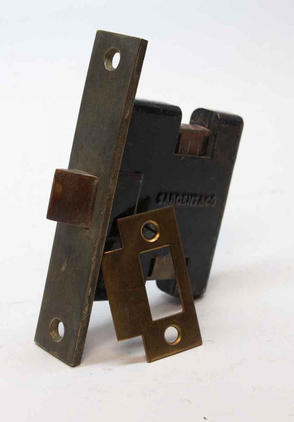 Door Locks - Sargent Brass & Cast Iron Passage Door Mortise Lock