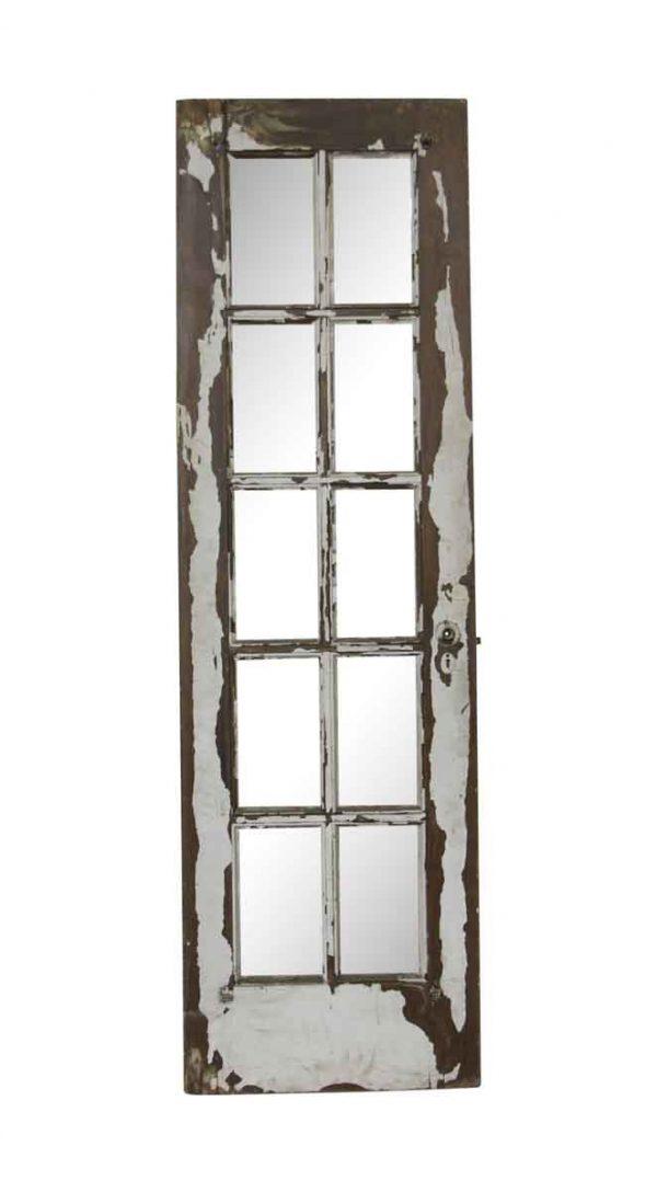 French Doors - Vintage 10 Vertical Lite Wood French Door 79.75 x 23.75