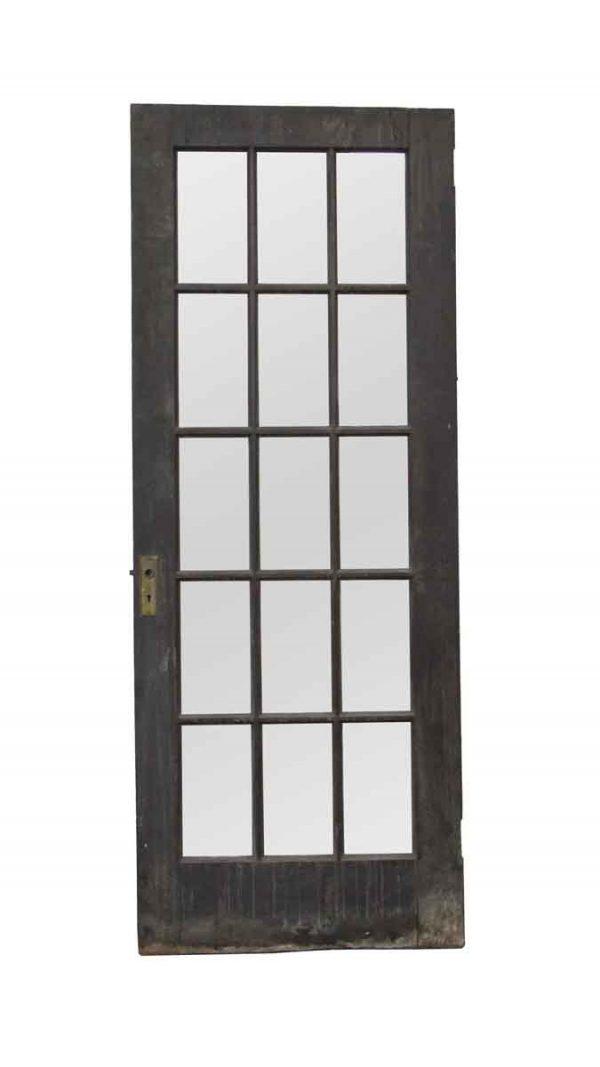 French Doors - Vintage 15 Lite Wood French Door 77.75 x 29.75