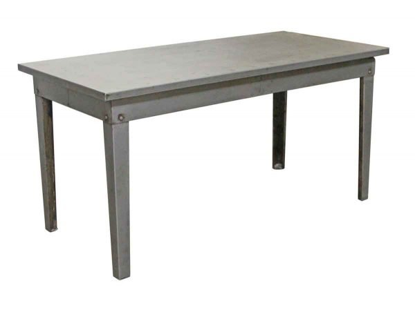 Industrial - Industrial 5 Foot Stripped Steel Table