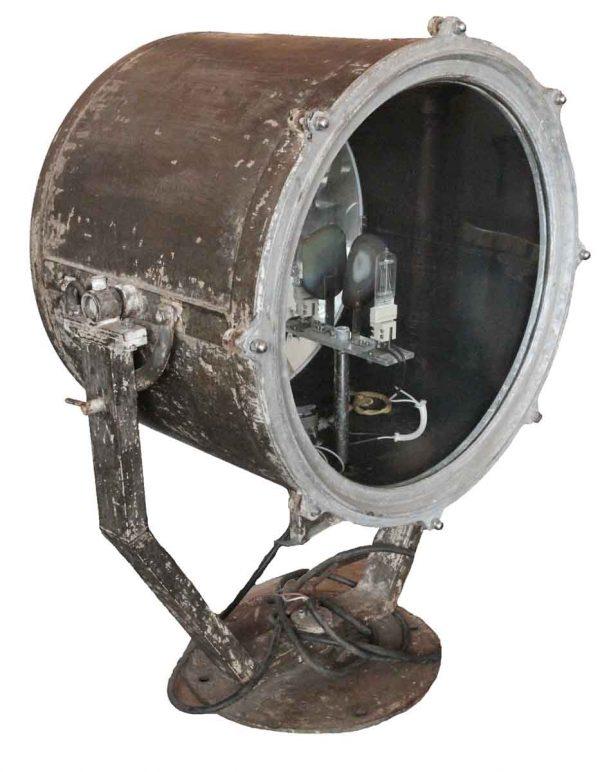 Nautical Lighting - Antique 47 in. Surface Mount Ship Spotlight