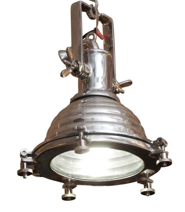 Nautical Lighting - Beehive Aluminum 11 in. Nautical Spotlight