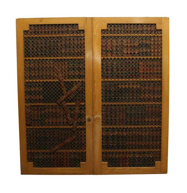 Specialty Doors - Pair of Speakeasy Double Doors 62.75 x 60.25
