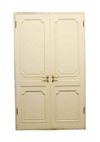 Set of 6 Pcs Antique Vintage old Glass Door Knob with Door Plate Architect