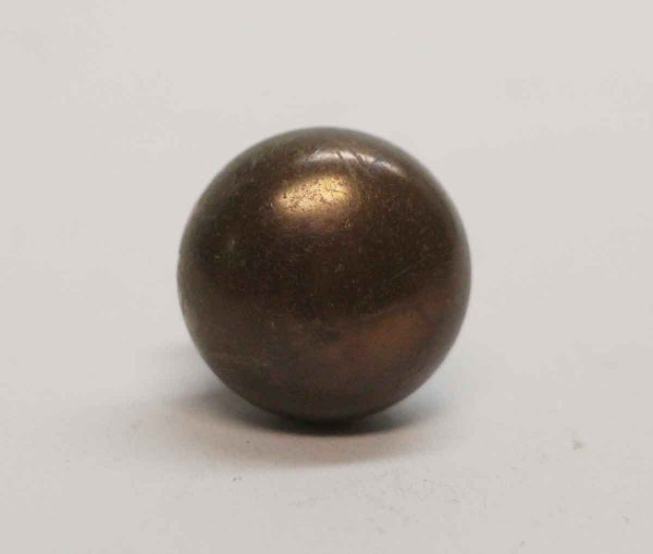 Cabinet & Furniture Knobs - Vintage 0.75 in. Brass Cabinet Knob