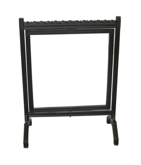 Commercial Furniture - Antique Refinished Art Deco Carved Wood Sign Frame