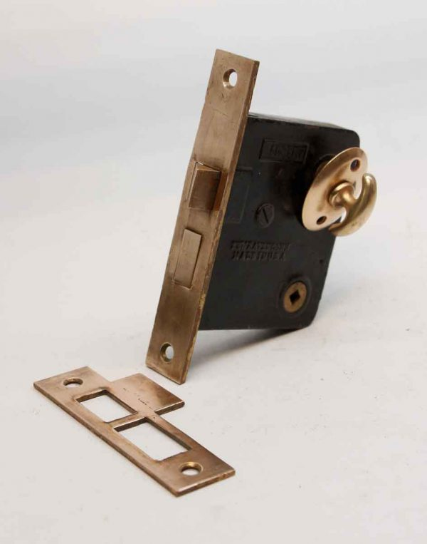 Door Locks - Antique Polished Brass Sargent Entry Door Mortise with Latch