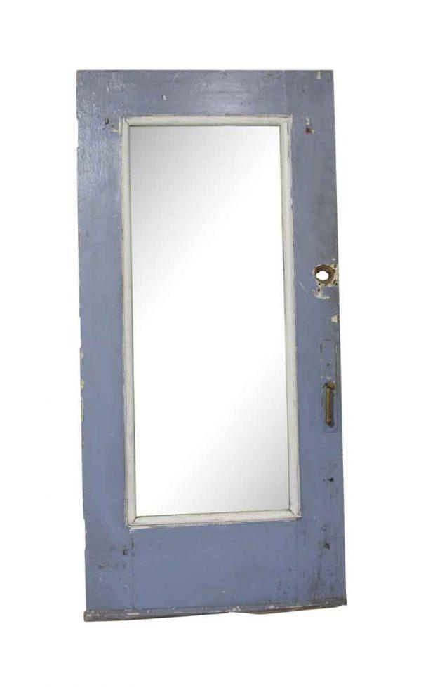 Entry Doors - Vintage Single Lite Wood Entry Door 83.25 x 39.75