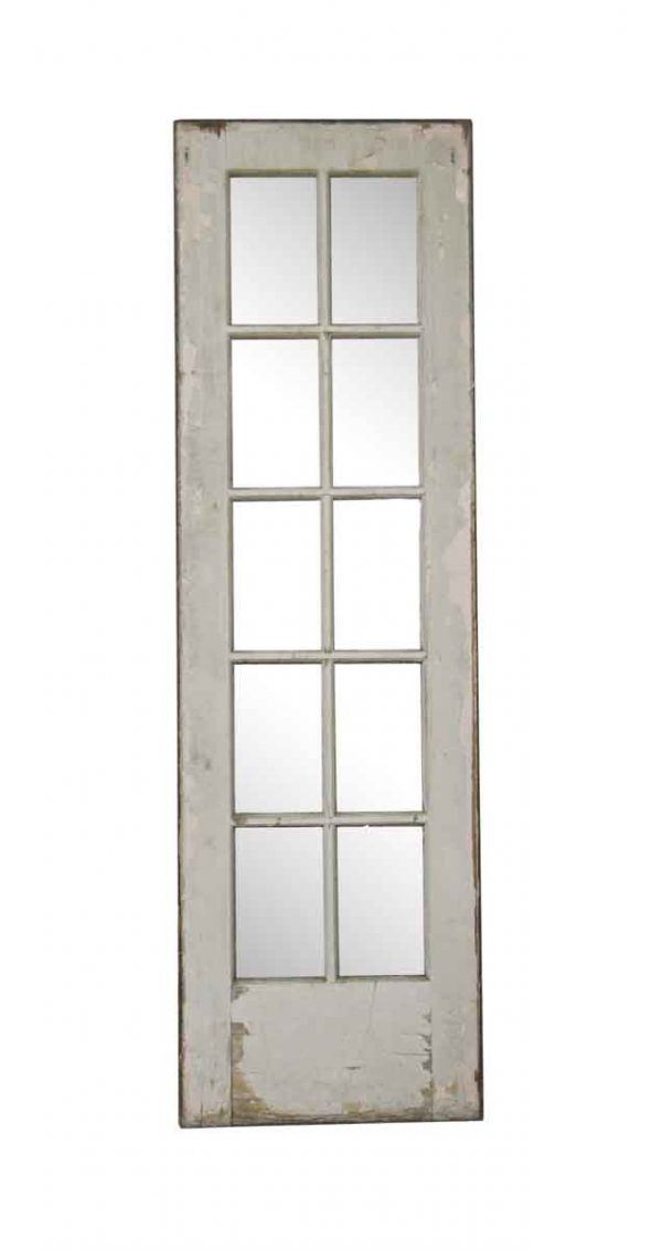 French Doors - Vintage 10 Lite Wood French Door 80 x 24