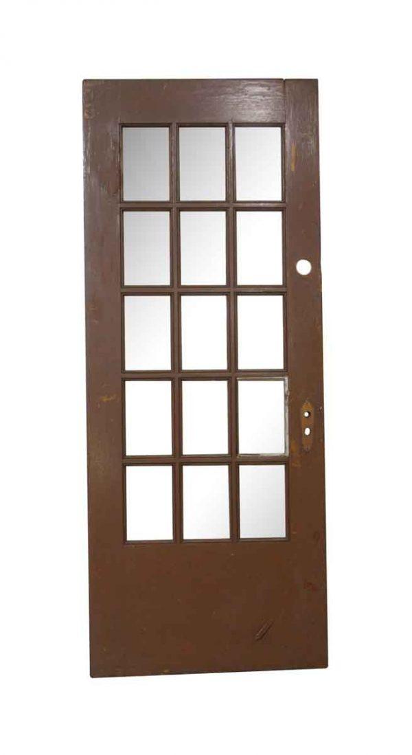 French Doors - Vintage 15 Lite French Door 79 x 31.75