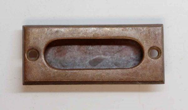 Window Hardware - Antique Yale Beveled Brass Window Sash Lift