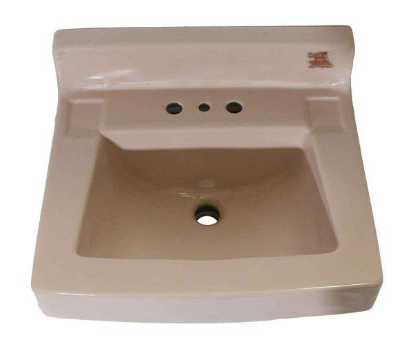 Bathroom - 1950s Vintage 20 in. Pink Porcelain Sink
