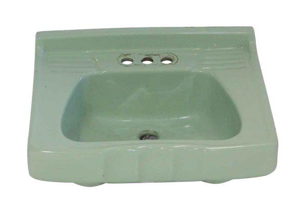 Bathroom - Vintage Komart Green 22 in. Porcelain Sink
