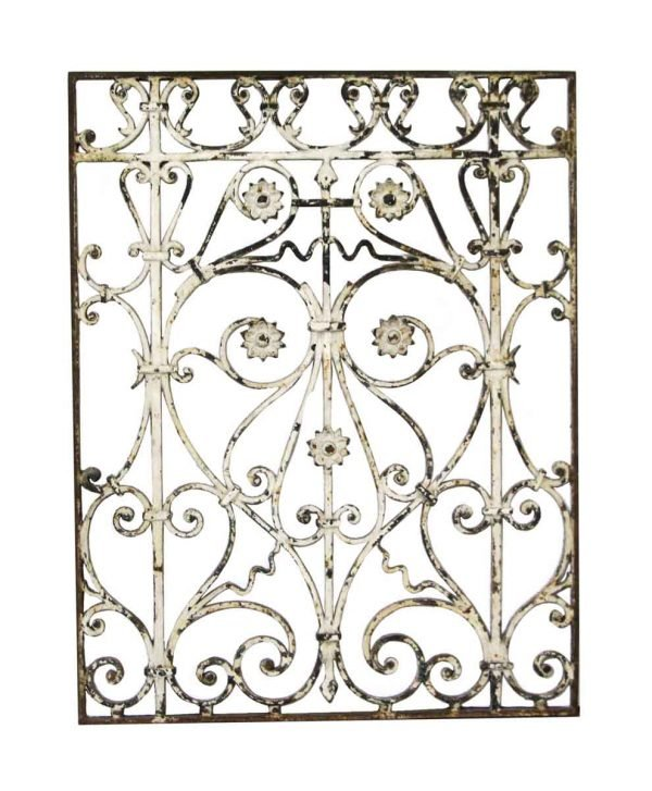 Decorative Metal - Wrought Iron French Gate Piece 35 x 27