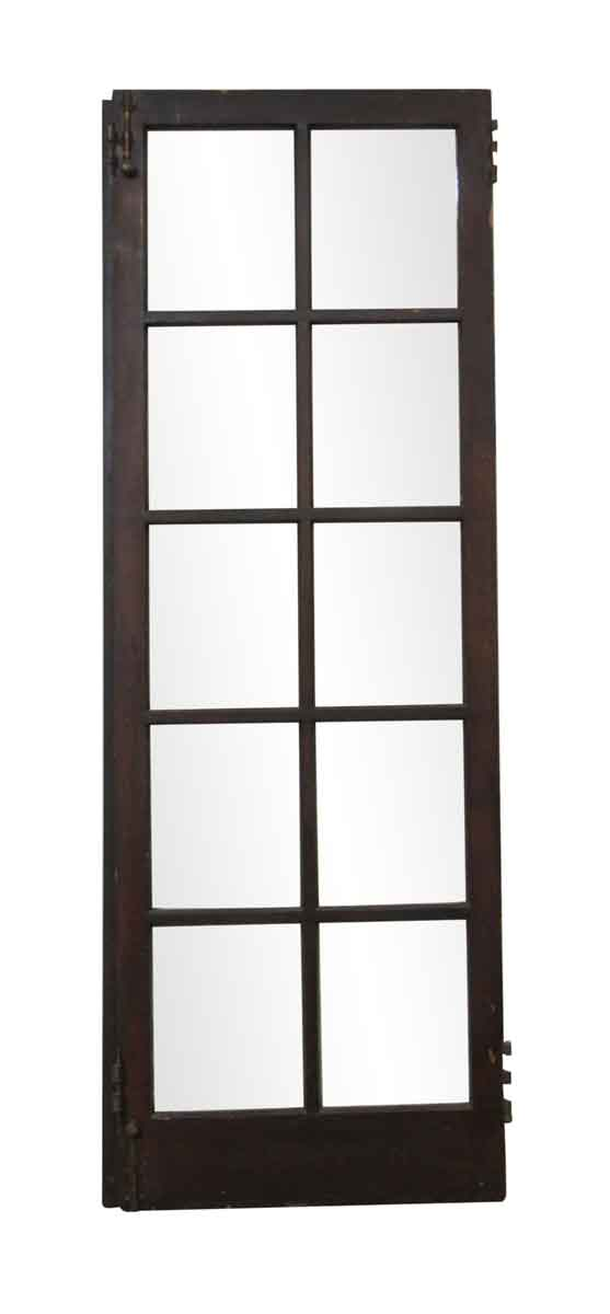 French Doors - Vintage 10 Lite Wood French Door 82.625 x 28.5