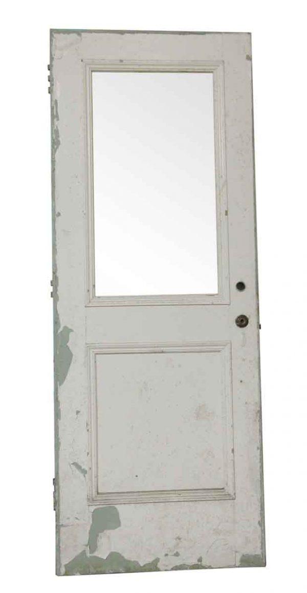 Standard Doors - Vintage One Lite One Pane Wood Door 83.125 x 31.75
