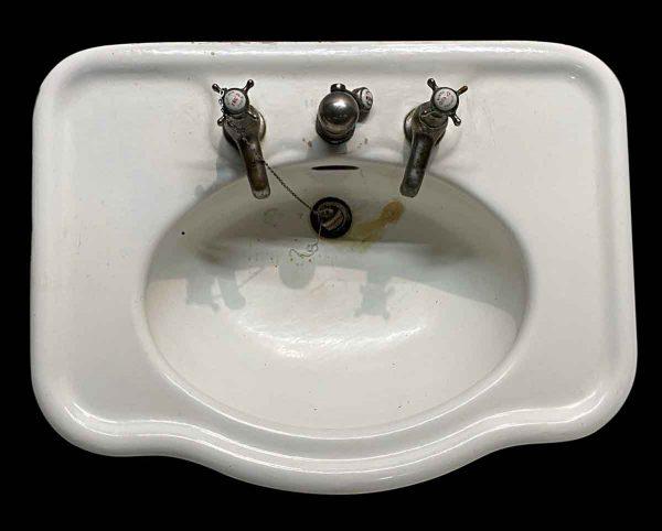Bathroom - Antique French 28 in. Bathroom Wall Sink