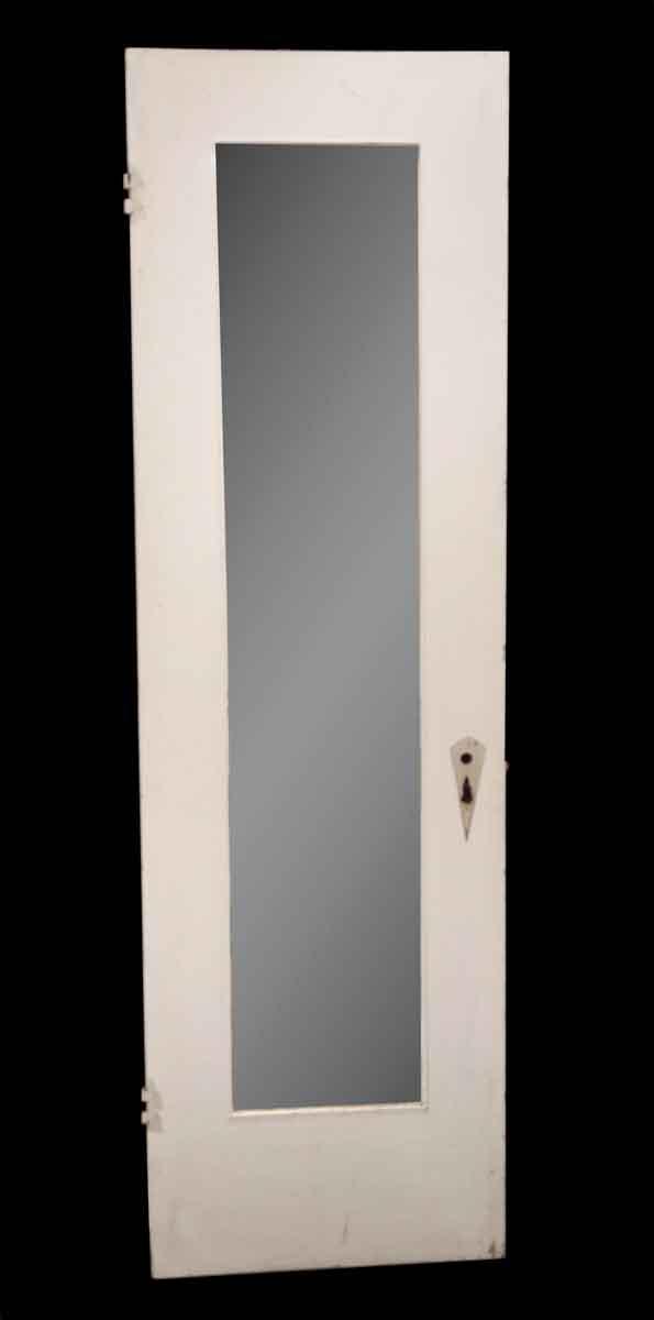 Closet Doors - Vintage Mirror Pane Wood Closet Door 79.5 x 24