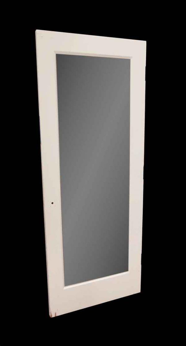 Closet Doors - Vintage Panel Wood Mirrored Closet Door 80 x 31.5