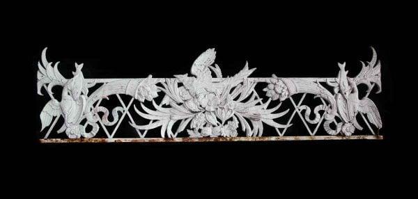 Columns & Pilasters - Decorative Salvage White Cast Iron Porch Pilaster