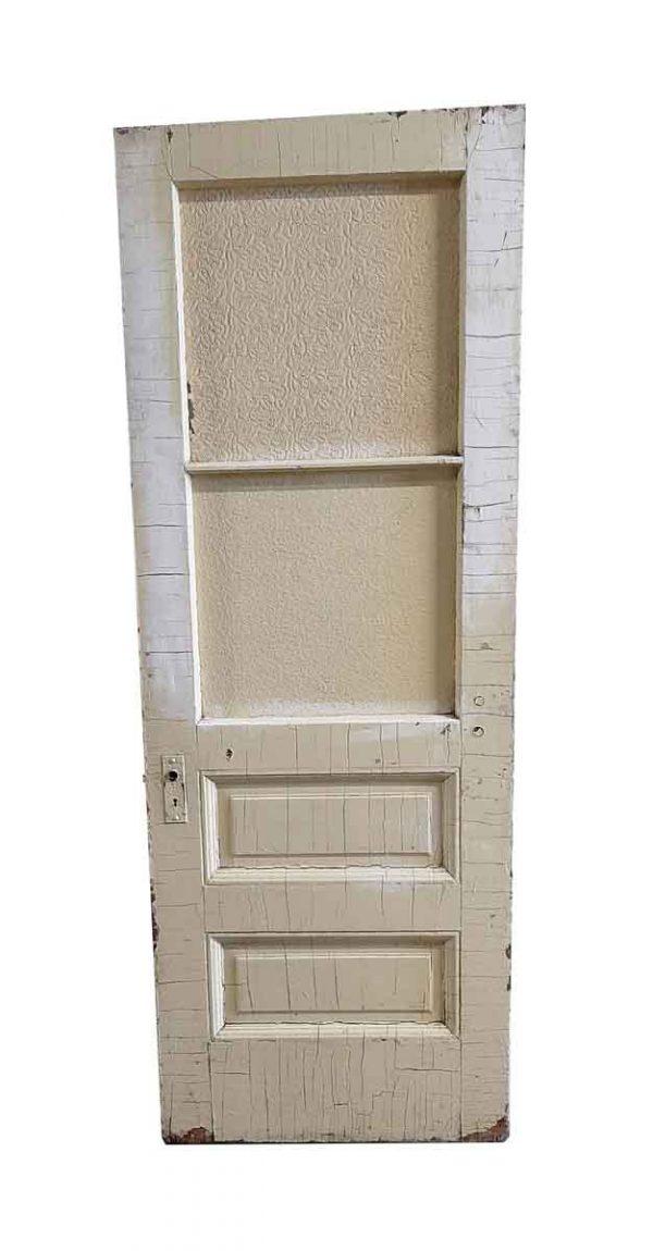 Commercial Doors - Antique 2 Lite 2 Pane Oak Passage Door 81.25 x 30
