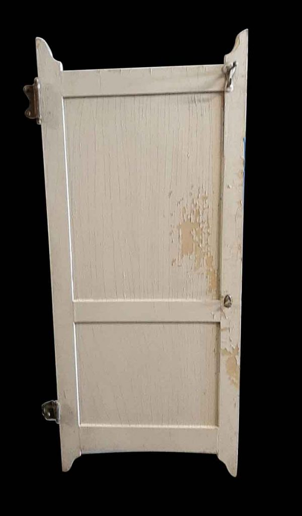 Commercial Doors - Antique 2 Pane Wood Bathroom Stall Door 60.5 x 25.75