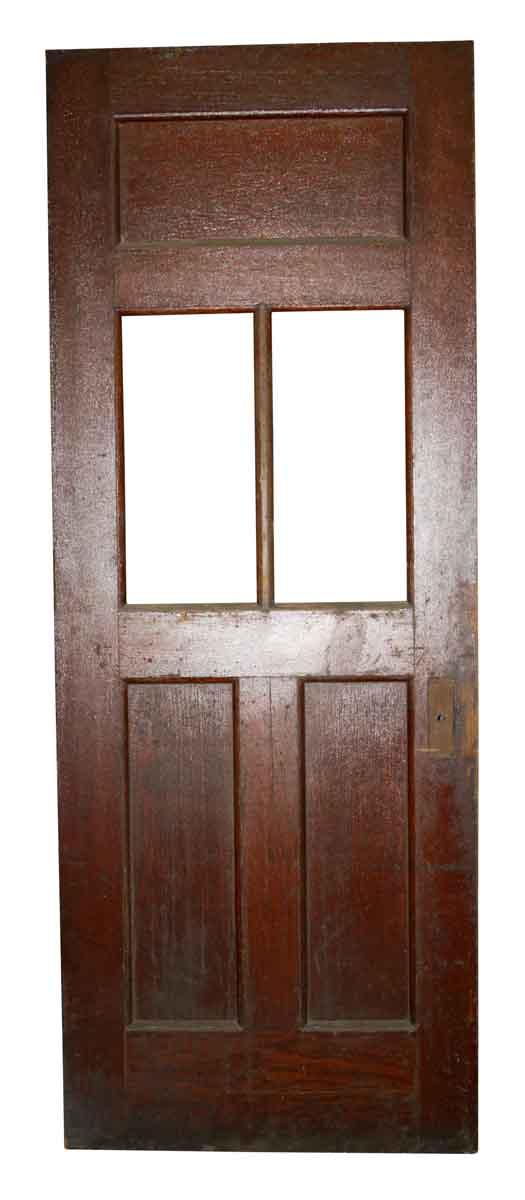 Commercial Doors - Vintage 3 Pane Wood Passage Door 84.25 x 31.875