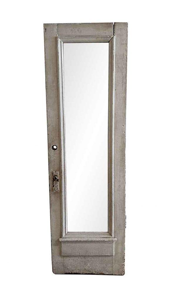 Entry Doors - Antique 1 Full Lite Wood Entry Door 85 x 26.25