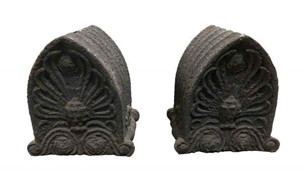 Exterior Materials - Pair of Cast Iron Architectural Cornice Details