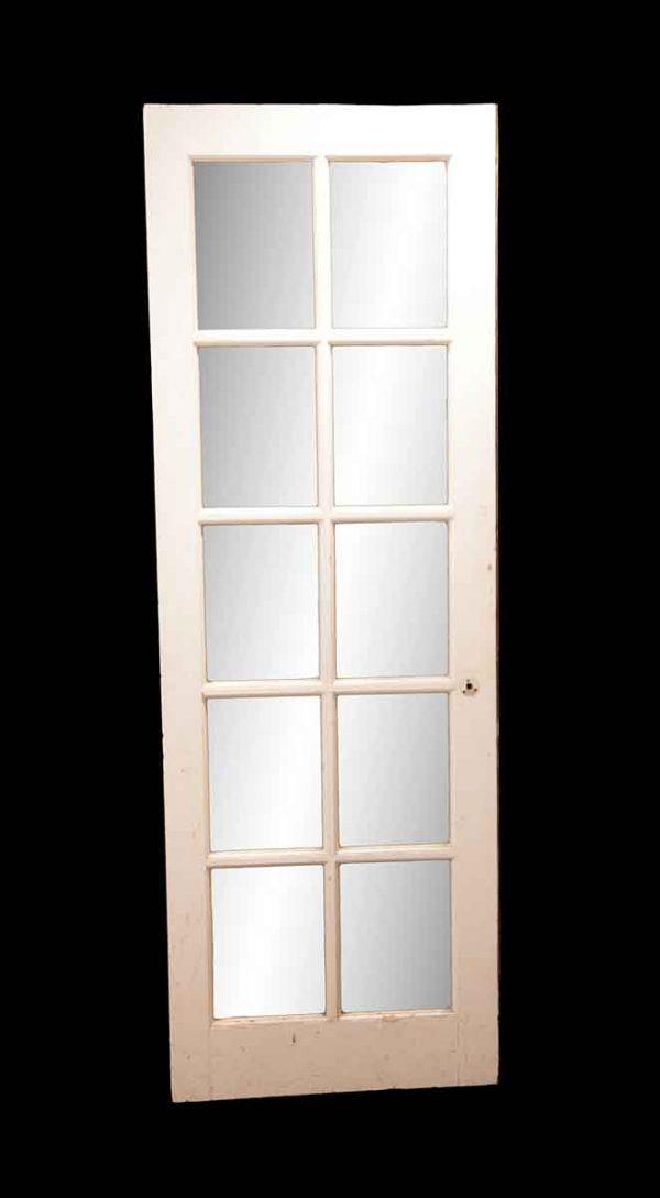 French Doors - 10 Lite Antique French Door 76.5 x 26.375