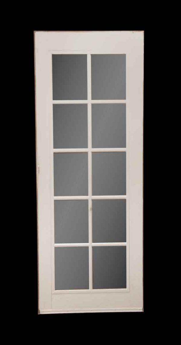 French Doors - Vintage 10 Lite Wood French Door 78.25 x 30