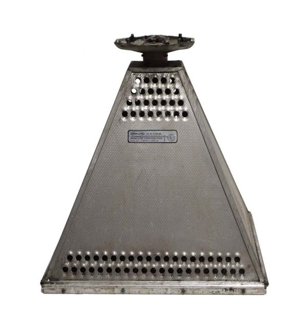 Industrial & Commercial - Large Industrial Ribbed Aluminum Restaurant Light