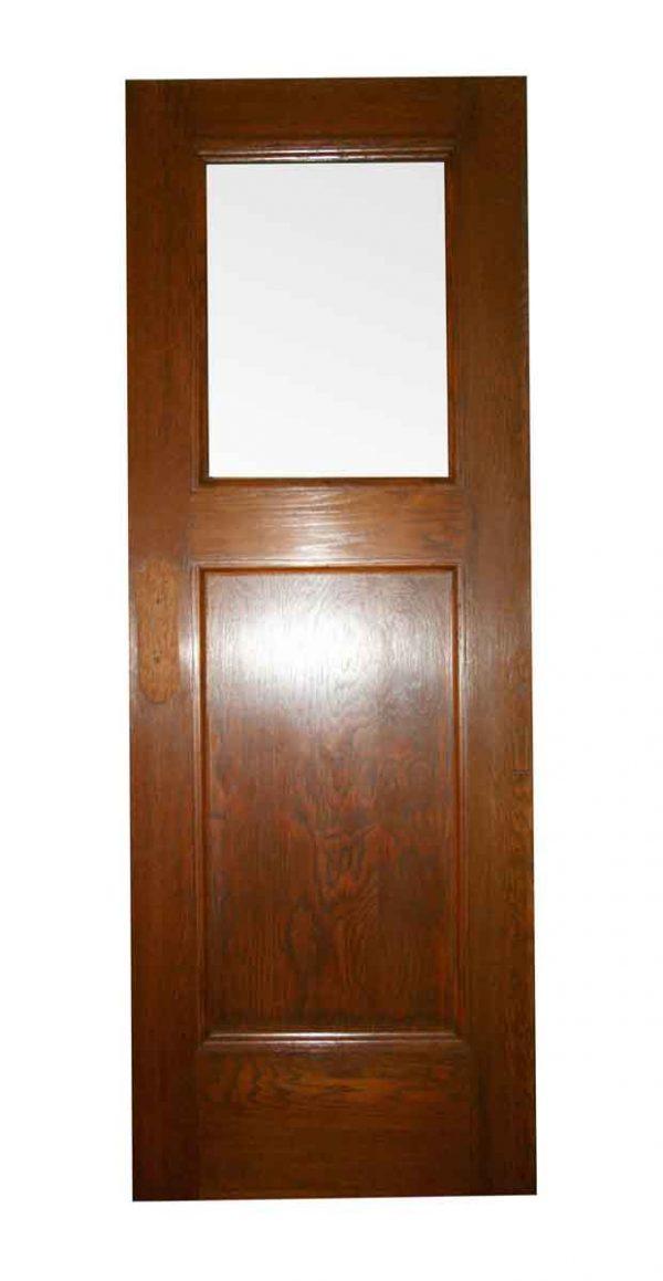 Interior Doors - Arts & Crafts Oak 1 Lite 1 Pane Passage Door 83 x 30