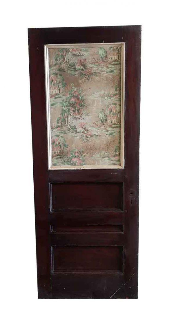 Standard Doors - Antique 1 Lite 3 Pane Wood Passage Door 86.75 x 33.5