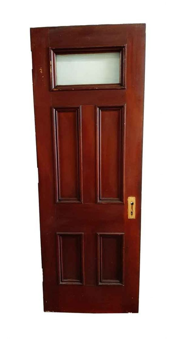 Standard Doors - Antique 4 Pane 1 Lite Wood Passage Door 84 x 30