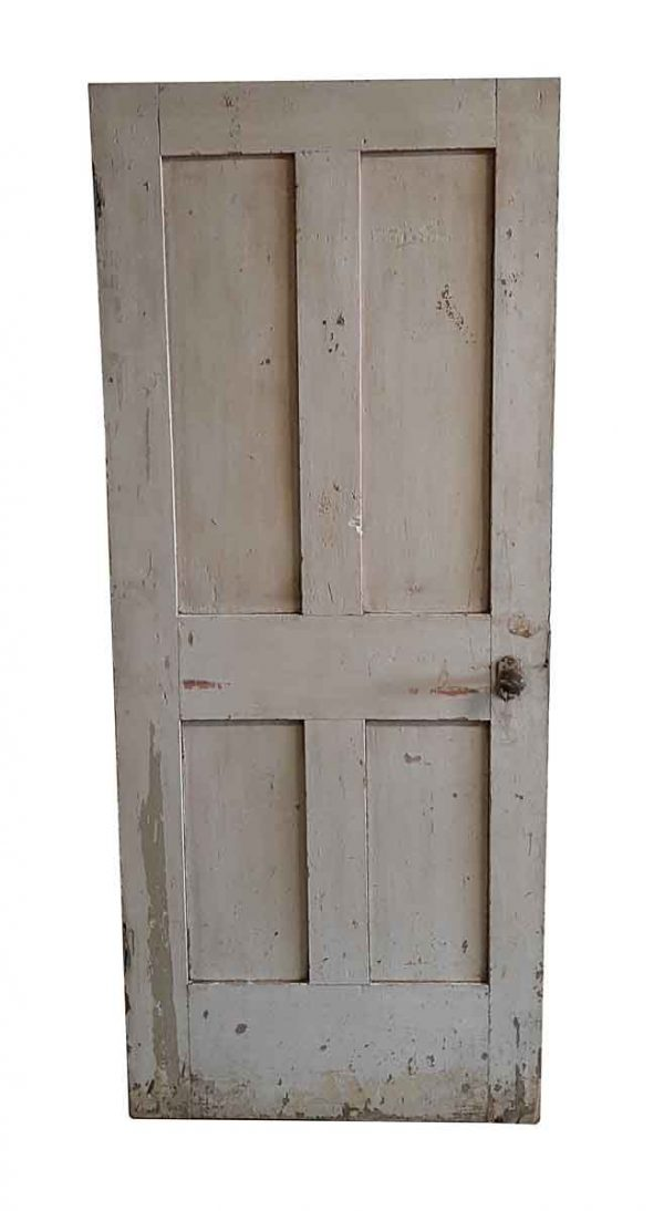 Standard Doors - Antique 4 Pane Wood Passage Door 78.25 x 32.5
