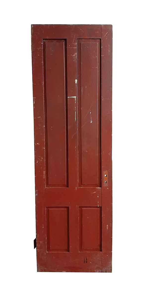 Standard Doors - Antique 4 Pane Wood Passage Door 89.5 x 28