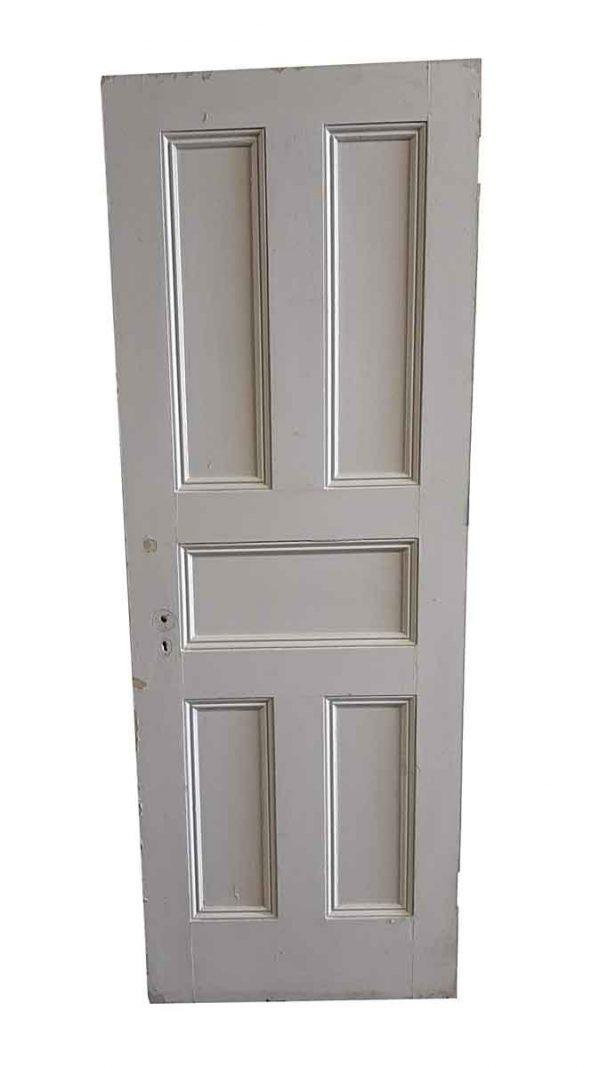 Standard Doors - Antique 5 Pane Wood Passage Door 82.5 x 29.5