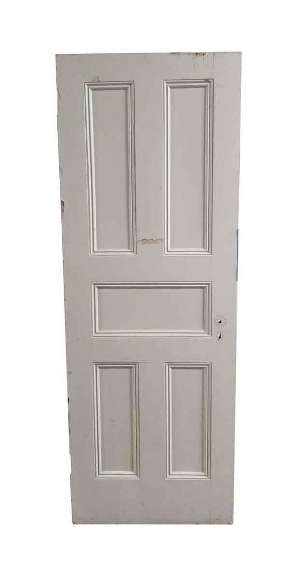 Standard Doors - Antique 5 Pane Wood Passage Door 82.5 x 29.875