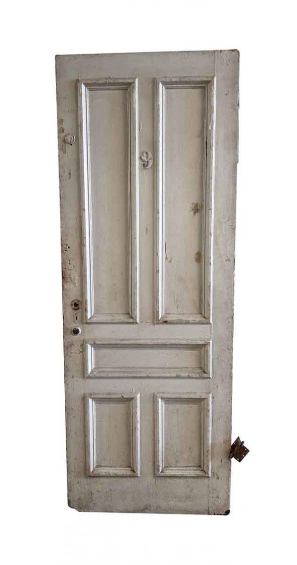 Standard Doors - Antique 5 Pane Wood Passage Door 85 x 31.5