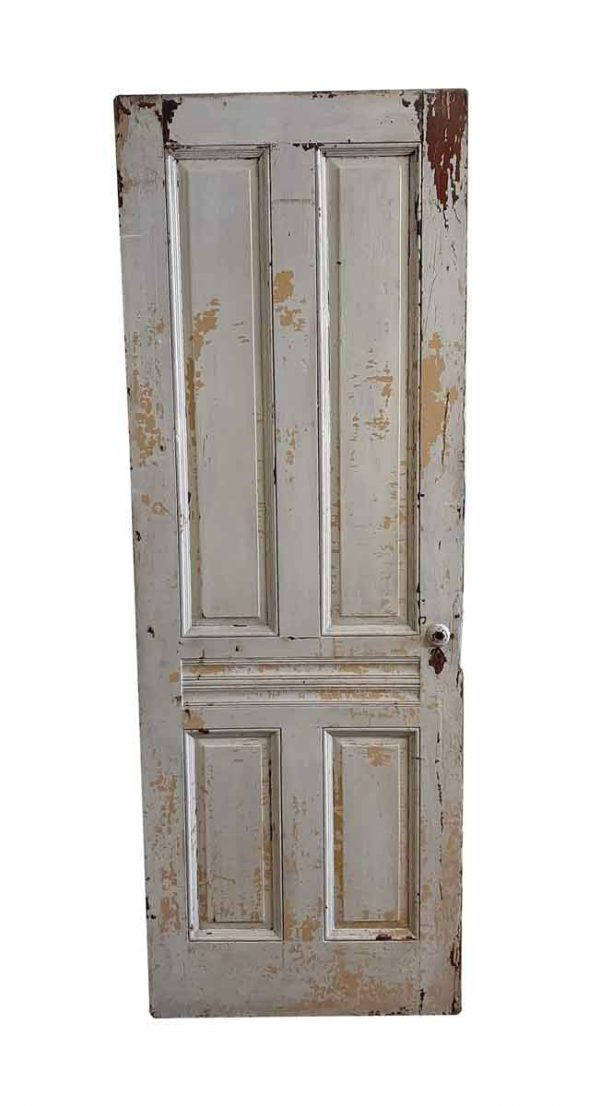 Standard Doors - Antique 5 Pane Wood Passage Door 89 x 32