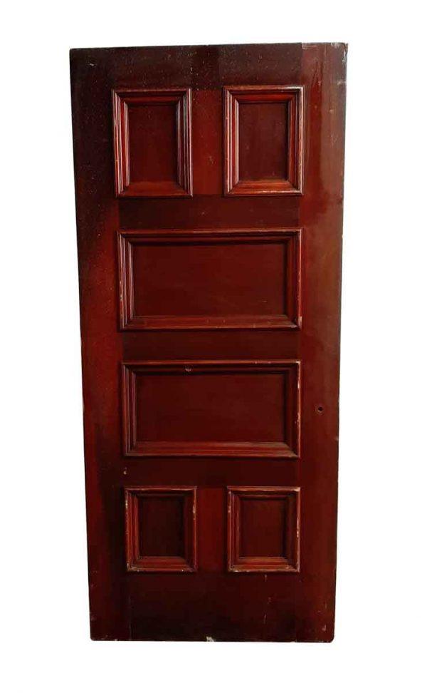 Standard Doors - Antique 6 Pane Wood Passage Door 83 x 35.75