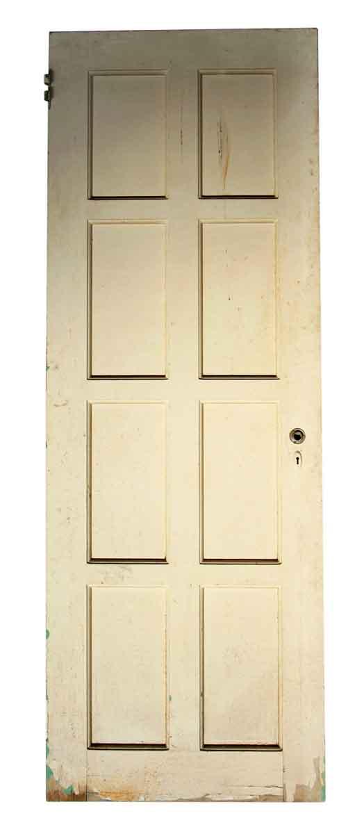 Standard Doors - Antique 8 Pane White Passage Door 78.875 x 28