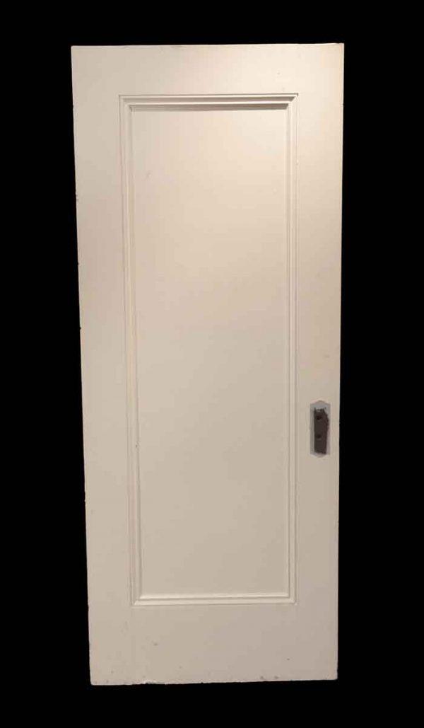 Standard Doors - Antique Single Panel Wood Passage Door 79 x 32