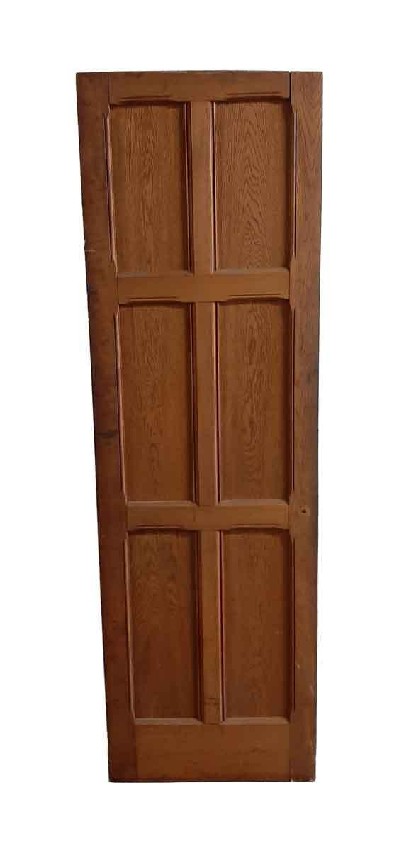 Standard Doors - Arts & Crafts 6 Pane Oak Passage Door 77 x 24