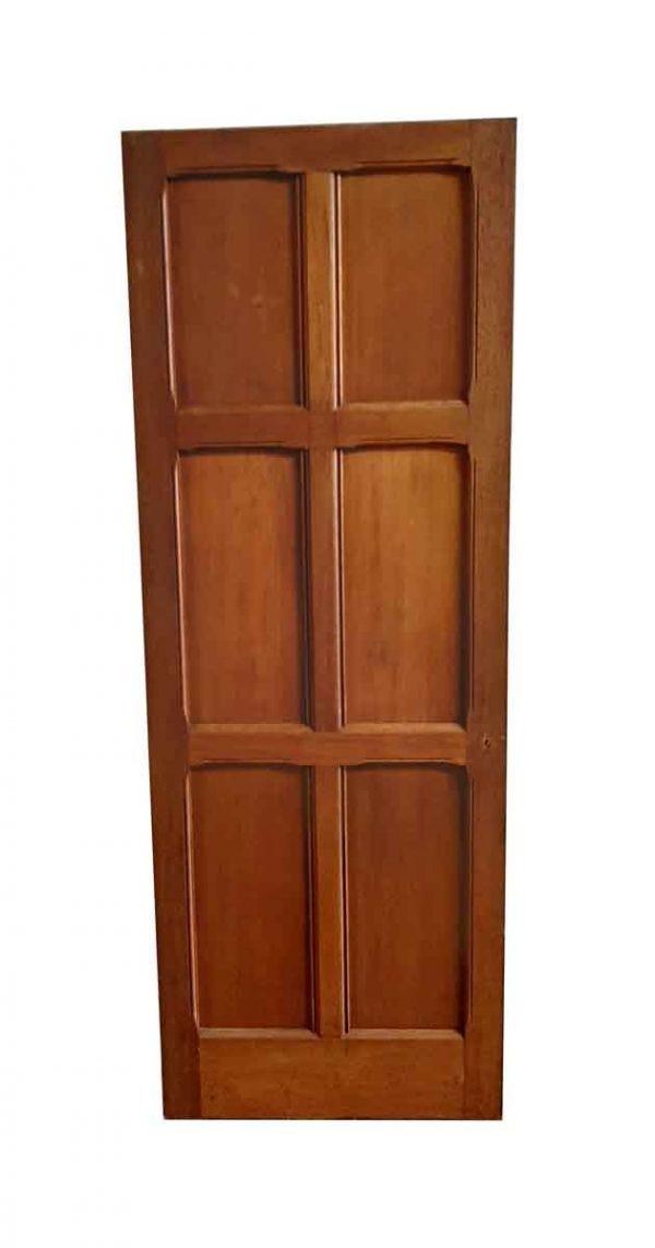 Standard Doors - Arts & Crafts 6 Pane Oak Passage Door 77.5 x 27.75